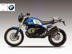 "Motosketches: BMW R 1200 ""DESERT SLED R"""