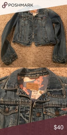 Hollister jean jacket size m Hollister jean jacket size m good condition Hollister Jackets & Coats Jean Jackets