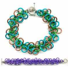 DIY Jewelry Chainmaille Kits Tutorials | Shaggy Loops - Project | Blue Buddha Boutique