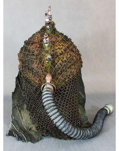 Hedgehog helmet