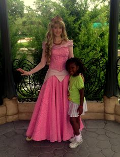 Meet and Greet with Princess Aurora (Sleeping Beauty) in the Gardens of France at Walt Disney World Epcot