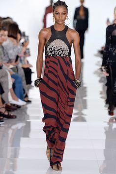 Roberto Cavalli Spring 2018 Ready-to-Wear Fashion Show - Karly Loyce