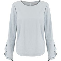 Hold Frill Sleeve Top