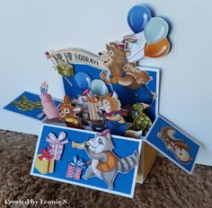 CARD IN A BOX WITH BIRTHDAY MEMORIES! | A Stamping Journey