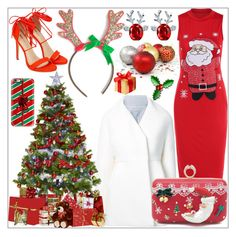 """""""Christmas Party Outfit"""" by tlb0318 ❤ liked on Polyvore featuring Delpozo and Casetify"""