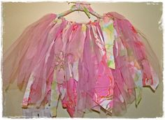 Ric Rac Rabbit - Tampa Sewing and Craft Parties, Classes and Creations: Fabric Scrap and Tulle Tutu