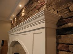 : Fireplace Makeover Maintaining Ideas - Best Source of DIY Home Improvement Stone Fireplace Makeover, Mediterranean Home Decor, Architecture, Fireplaces, Cleveland, Simple, Ideas, Projects, Arquitetura