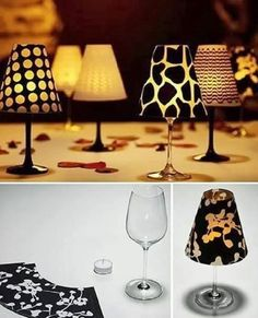 Candle Lampshade Craft - 15 Whimsical DIY Party Decoration Tutorials | GleamItUp