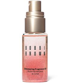 Bobbi Brown Shimmering Fragrance Oil: Featured in Bobbi's Miami Collection, Beach Shimmering Fragrance Oil combines pretty shimmer and the scent of Beach Fragrance into lightweight oil, for an all-over body experience. Highlighter Makeup, Bronzer, Highlighters, All Things Beauty, Beauty Make Up, Bobbi Brown Beach, Vitamin E, Fragrance Parfum, Beauty Junkie