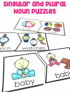 Use singular and plural nouns with matching verbs in basic sentences (e., He hops; We hop). Nouns Kindergarten, Kindergarten Language Arts, Language Activities, Kindergarten Activities, Therapy Activities, Preschool Projects, English Activities, Therapy Ideas, Writing Activities