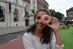 Donuts for life #donut #girl