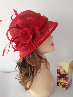 2014 NEW Kentucky Derby Church Easter Ascot Sinamay Small Brim Dress Hat,14color