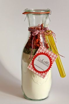 To give away something homemade I think is very nice and so I have recently made a baking mix for a ciabatta. Eigent … by mchdabrock Ciabatta, Homemade Gifts, Diy Gifts, Diy Décoration, Food Gifts, Diy Food, Diy And Crafts, Christmas Gifts, Christmas Baking