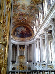Capela do Palácio de Versalhes.