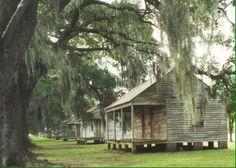 Evergreen Plantation Slave Quarters   Louisiana