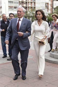 Mario Vargas Llosa e Isabel Preysler acuden a la plaza de toros de Las Ventas