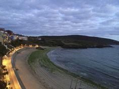 Playa de Malpica del Bergantiños.