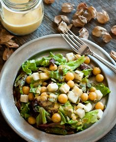 Ground Cherry Salad with Jicama, Pumpkin Seeds and Ground Cherry Vinaigrette