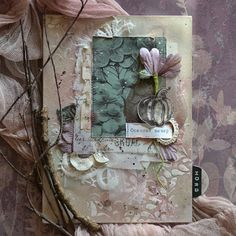 ПИТЕРСКИЙ СКРАПКЛУБ: Садово-огородный планинг Handmade Journals, Handmade Books, Mixed Media Scrapbooking, Paper Lace, Small Words, Journal Covers, Altered Books, Journal Inspiration, Scrapbooks