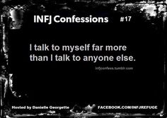Haha true, I talk to myself a lot. I don't always listen though