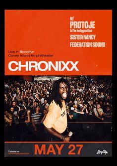 Chronixx and Protoje、ニューヨーク2018