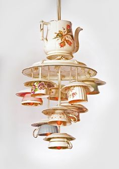 Teacup Chandelier - Graphis