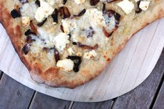 honey goat cheese pizza 2 web