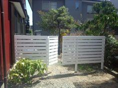 ウッドフェンス Privacy Screens, Outdoor Structures, Landscape, Fences, Garden, Plants, Picket Fences, Scenery, Garten