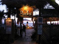Huggo's on the Rocks - Kona, HI --fantastic place to eat dinner + watch the sunset.
