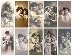 SATURDAY, APRIL 28, 2012    Happy Mother's day! free vintage images for You!