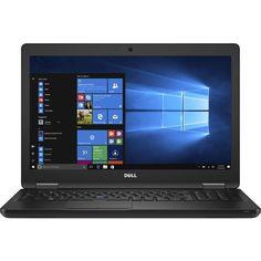 "Dell - Latitude 15.6"" Laptop - Intel Core i5 - 8GB Memory - 500GB Hard Drive - Black"