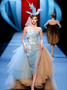 Blue Haute Couture Christian Dior