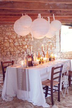 decoration mariage rustique chic la mariée en colère superbe chemin de table