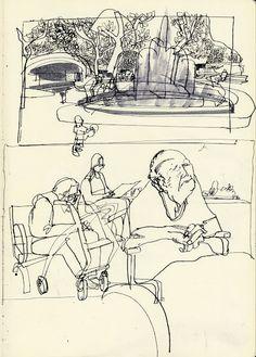 Urban Sketchers: Urban Park Reportage