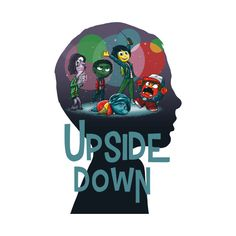 Check out this awesome 'Upside+Down' design on @TeePublic!