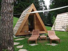 campers glamping   Foto's van Camp Bled – foto's Hut/Kampeerplaats