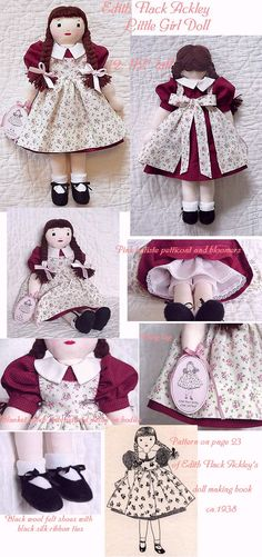 Edith Flack Ackley girl doll