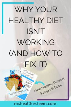 Why Your Healthy Diet Isn't Working (And How to Fix It) - Healthy diet tips that actually help you create a lasting, fulfilling healthy lifestyle that makes you feel amazing. If you're looking to eat clean and want to make it stick look no further. Click through for the goodness (including a FREE Healthy Dessert Recipe E-Book featuring 10 Vegan, Gluten Free, Refined Sugar Free Desserts that taste sinful but totally aren't)