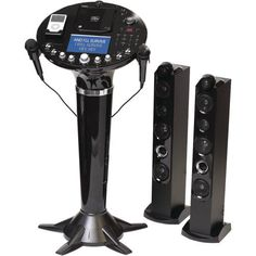 "Singing Machine Pedestal CD+G Karaoke Player w/ iPod Dock & 7"" LCD Color Monitor by Singing Machine, http://www.amazon.com/dp/B003XOLNWE/ref=cm_sw_r_pi_dp_kA.grb1HGV3NV"