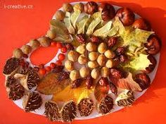 Výsledek obrázku pro podzimnípaleta Art For Kids, Crafts For Kids, Arts And Crafts, Nature Activities, Activities For Kids, Drake, Fruit, Fall, Creative