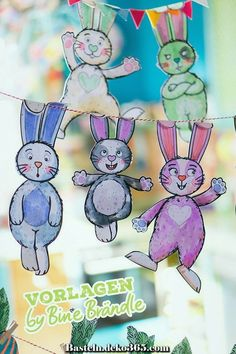 Ostern Vorlage_Oster_Hase_Bine Brändle The more you study and learn about beer making, the bette Bunny Crafts, Easter Crafts, Fall Crafts For Kids, Art For Kids, Fall Art Projects, Projects For Kids, Easter Bunny Pictures, Diy Back To School, Diy Ostern