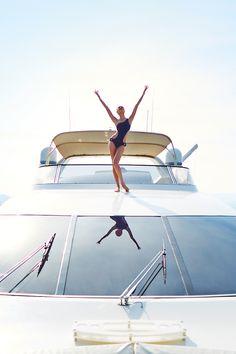 Ahoy, Candice! #AngelGetaways