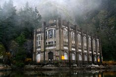 Haunted Hikes and Spooky Sites – Cryptic Tales of Coastal BC. Old Bunzen Lake Hydro Plant – Indian Arm. Halloween activity in Vancouver, Canada. Scary Places, Haunted Places, Places To See, Vancouver Hiking, Vancouver City, Hiking Tours, Hiking Trails, Creepy Houses, Haunted Houses