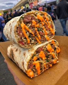 Mexican Food Recipes, Dinner Recipes, Ethnic Recipes, Dinner Ideas, California Burrito, Falafel, Restaurant Recipes, Burritos, Junk Food