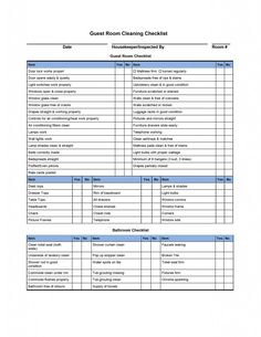housekeeping checklist template hotel room cleaning checklist templates external house cleaning housekeeping cleaning checklist cleaning and house cleaning housekeeping checklist format for office in Cleaning Checklist Printable, House Cleaning Checklist, Checklist Template, Report Template, Daily Checklist, Invoice Template, Cleaning Contracts, Weekly Schedule, Cleaning Routines