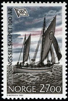 Norway Postage Stamp, 1991 #philately