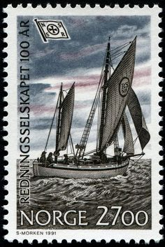 Norway Postage Stamp, 1991 #philately