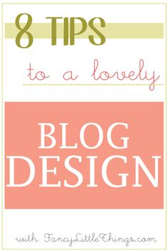 Blog Design Secrets From A Blog Designer / part 2