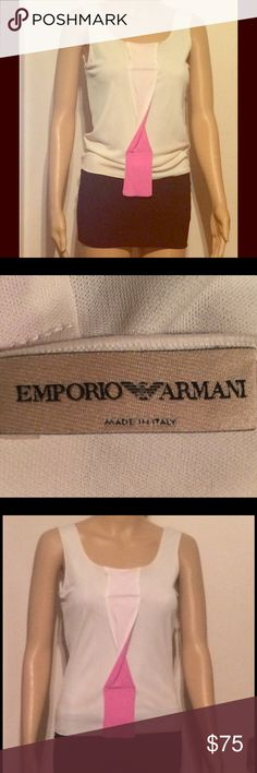 ARMANI shirt A beautiful George Armani shirt/ 80% ACETATO-ACETAT-ACETATE / 20% POLIAMMIDICA-Polyamid-Polyamide Nylon-Poliamida /manufactured By SIMIN T / MADE IN ITALY / I wore just one time / The shirt just like brand-new- and size S / M can wear at George Armani Shorts Skorts