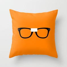 I heart Alex Vause! Alex Vause Glasses OITNB Throw Pillow by Maria Giorgi - $20.00